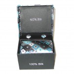 blue black diamonds tie