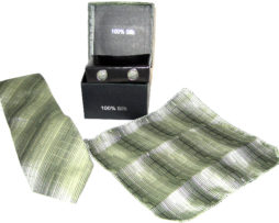 green shades tie gift set