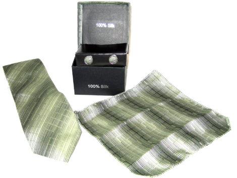green shades tie gift set
