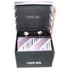 white purple diagonal stripe tie
